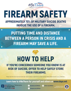 Firearm Safety Poster - Large
