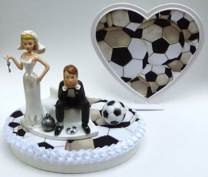 Soccer ball cake topper Fun Wedding Things