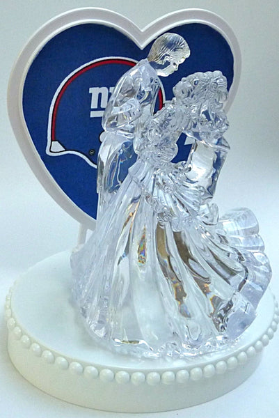 NY Giants cake topper FunWeddingThings.com football sports fans New York