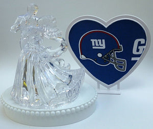 Groom's cake topper New York Giants FunWeddingThings.com football fans NY