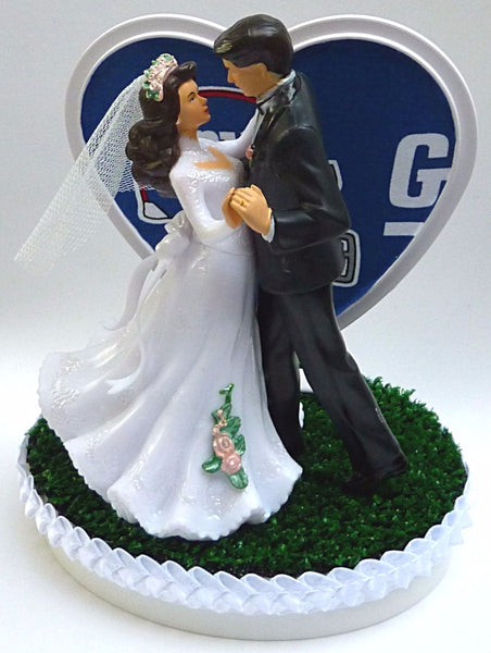 Fun Wedding Things New York Giants cake topper NY football dancing turf gift