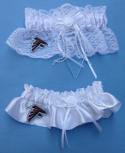 Atlanta Falcons Wedding Garter Set Football
