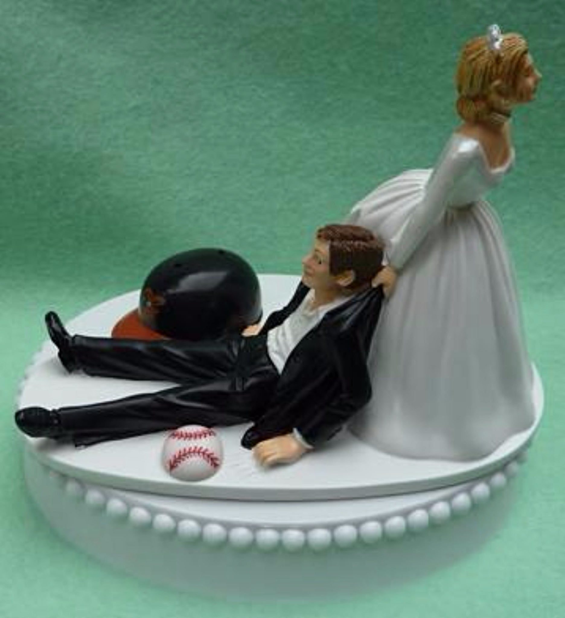 Wedding Cake Topper - Baltimore Orioles Baseball Themed
