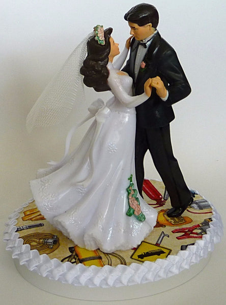 Fireman wedding cake topper FunWeddingThings.com