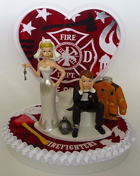 Fire wedding cake topper Fun Wedding Things