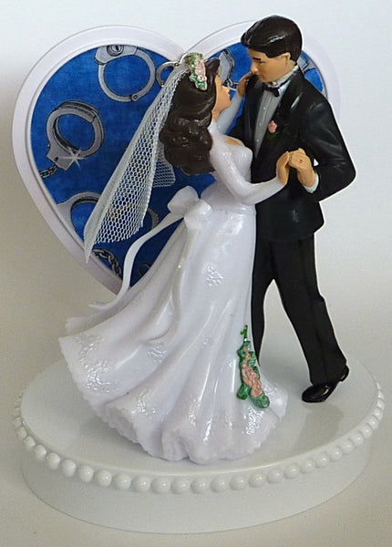 Policeman wedding cake topper