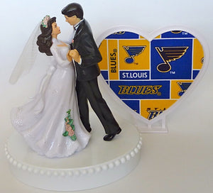 Hockey cake topper St. Louis Blues FunWeddingThings.com
