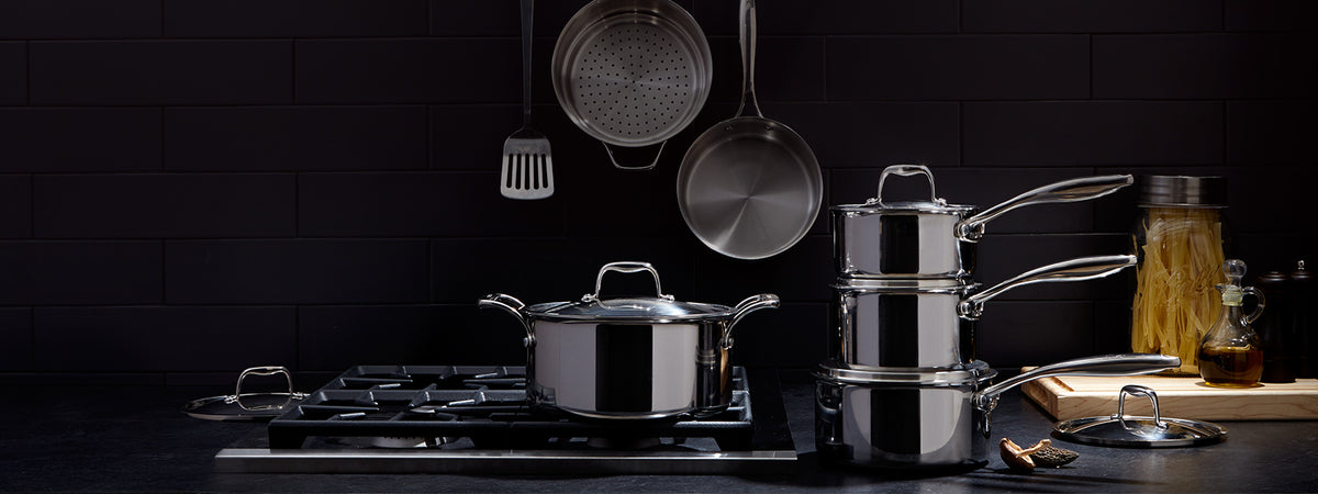 Fuel your passion for home cooking with PADERNO pots, pans, cookware sets and accessories