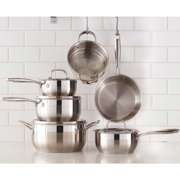 Cookware sets accessories paderno for Acier inoxydable cuisine