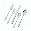 Richmond 20 Piece Flatware Set, Polished Finish | Service de couverts de 20 pièces Richmond, fini poli