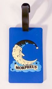 LUGGAGE TAGS WITH MORPHEUS LOGO (6PC)