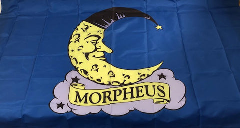 3' X 5' Morpheus Flag with Full Color Logo (EACH)