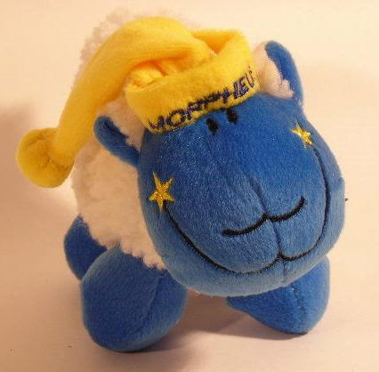 Plush Sheep with Morpheus Embroidery (6PC)