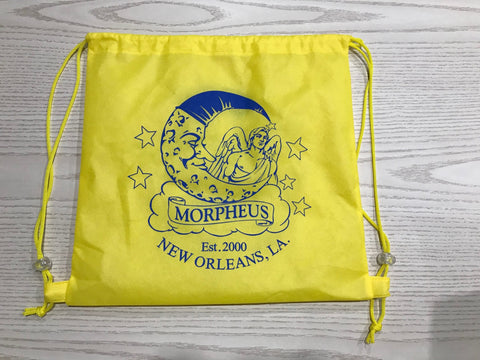 MORPHEUS YELLOW BACKPACK WITH BLUE LOGO (DZ)
