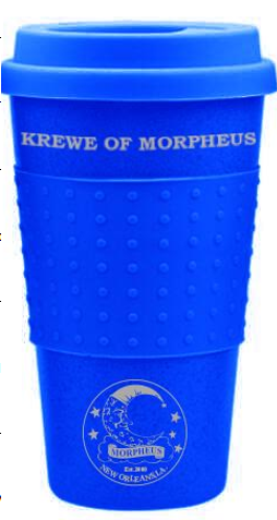Plastic Travel Coffee Cup with Custom Imprint (Each)