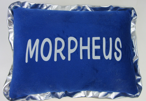 Plush Pillow with Morpheus Embroidery (6PC)