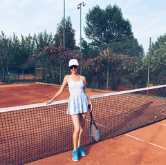 4 style tips for playing tennis in extreme heat