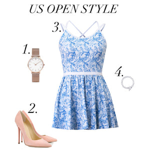 How to stand out at the US Open in style