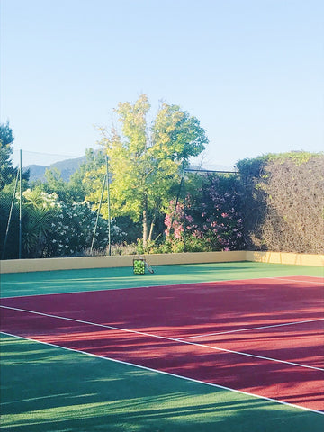 Mallorca beautiful tennis court