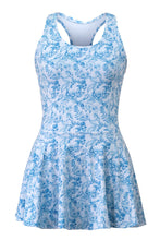 AMELIA DAFFODIL OASIS TENNIS DRESS