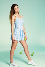 FLORA DAFFODIL OASIS TENNIS DRESS