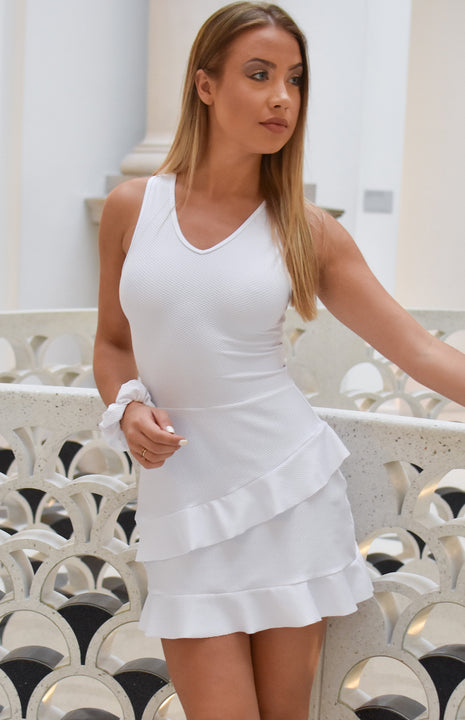 White tennis dress by Ivincia