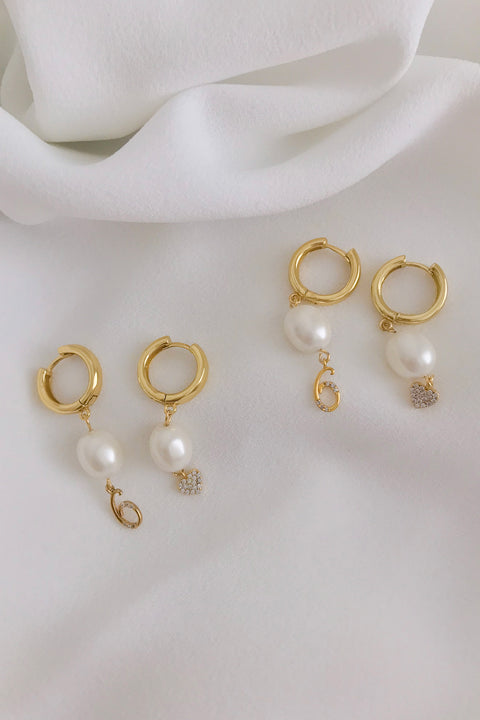 MATCH OVER - TENNIS EARRINGS