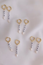 TENNIS PEARL EARRINGS