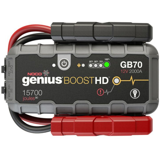 NOCO Genius GB70 BoostHD Jump Starter and Power Bank, 2000 Amp