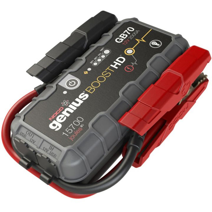 GB70 NOCO Genius GB70 BoostHD Jump Starter and Power Bank, 2000 Amp