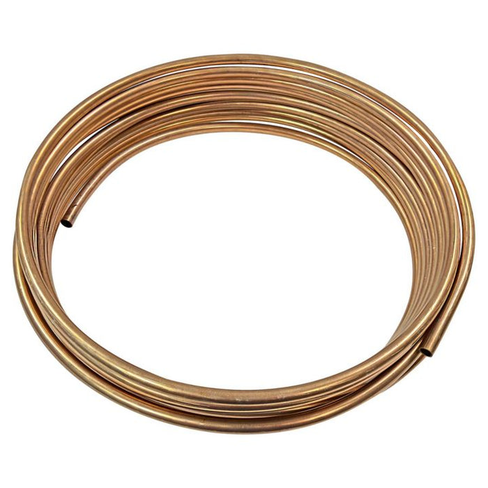 H. Paulin CN525 Copper Nickel Bulk Brake Line, 5/16-in x  25-ft