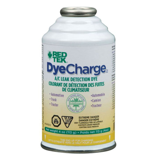 RED TEK Dye Charge, 4 oz.