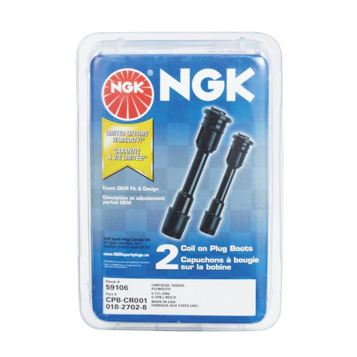 CPB-GM001 NGK Ignition Coil Boot, 2-pk