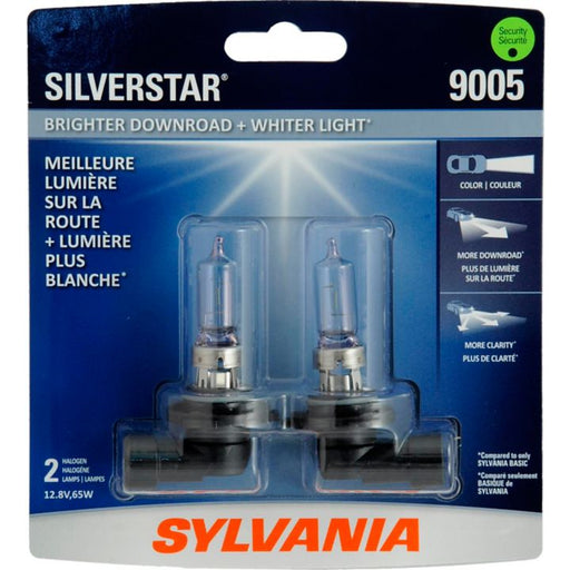 9005ST.BP2 9005 Sylvania SilverStar® Headlight Bulbs, 2-pk