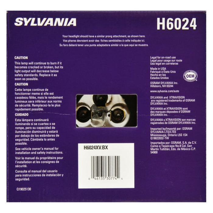 H6024XV.BX Xtravision Sealed Beams, H6024