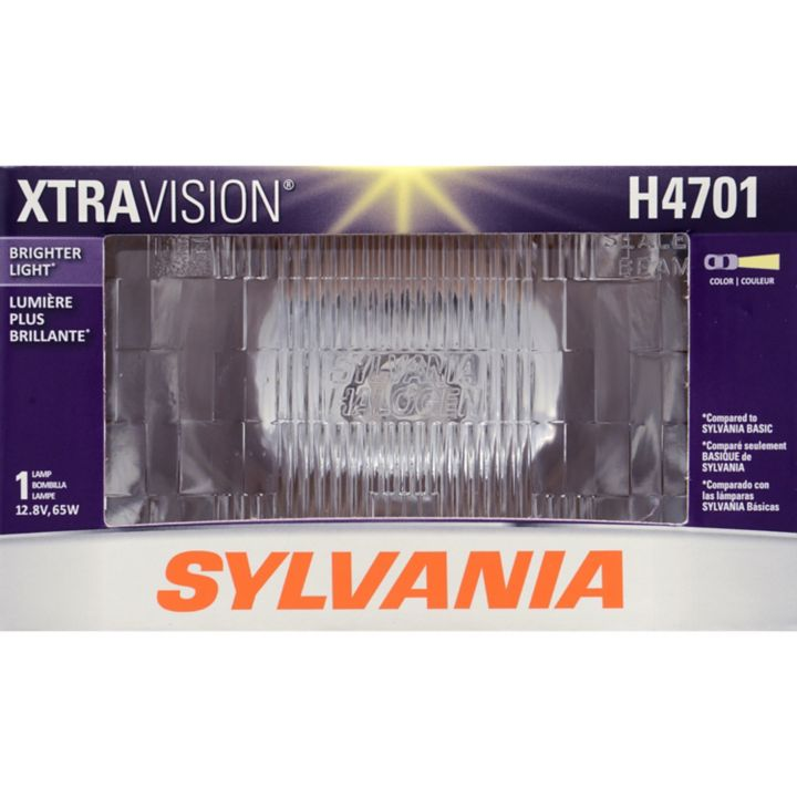 H4701 Sylvania Xtravision Sealed Beam