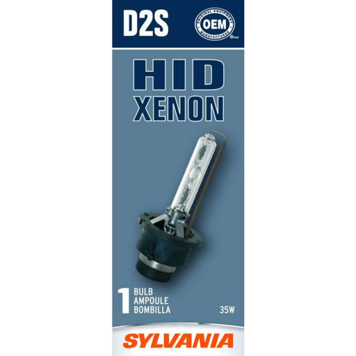 D2S.BX D2S Sylvania High Intensity Discharge (HID) Headlight Bulb, 1-pk