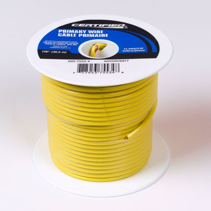 Certified 14 AWG, 100-ft