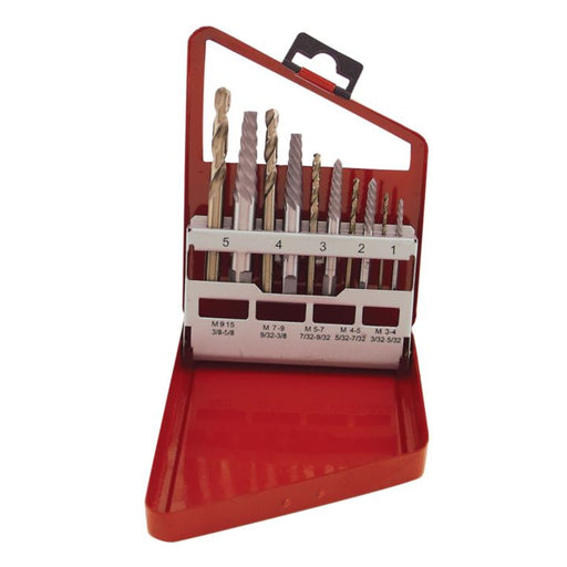 44467 Bolt Extractor Set, 10-pc