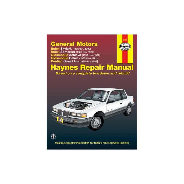 38025 Haynes Automotive Manual, 38025