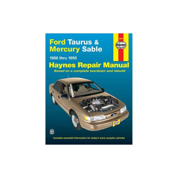 36074 Haynes Automotive Manual, 36074