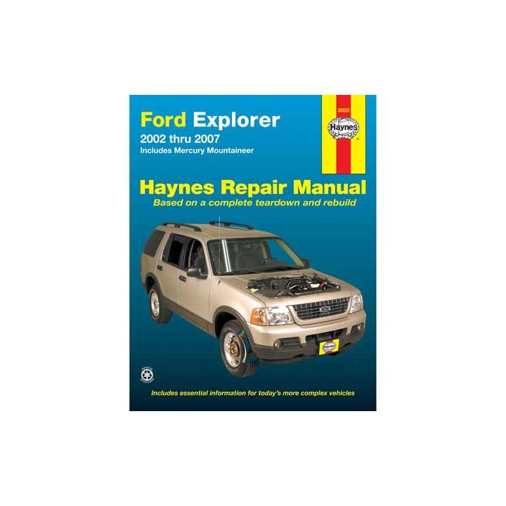 36025 Haynes Automotive Manual, 36025