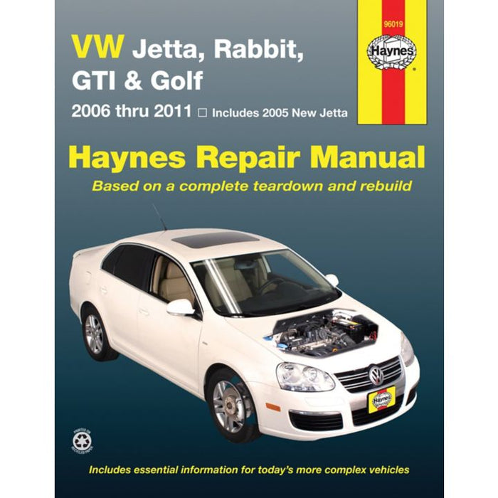 96019 Haynes Car Repair Manual, Volkswagen, 2005-2011