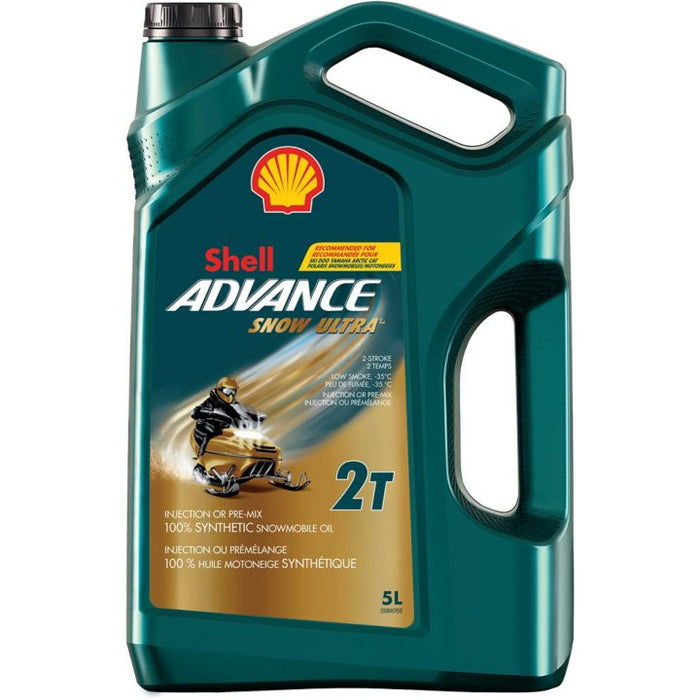 427-512-22 Shell Advance Synthetic Snowmobile Oil, 5L