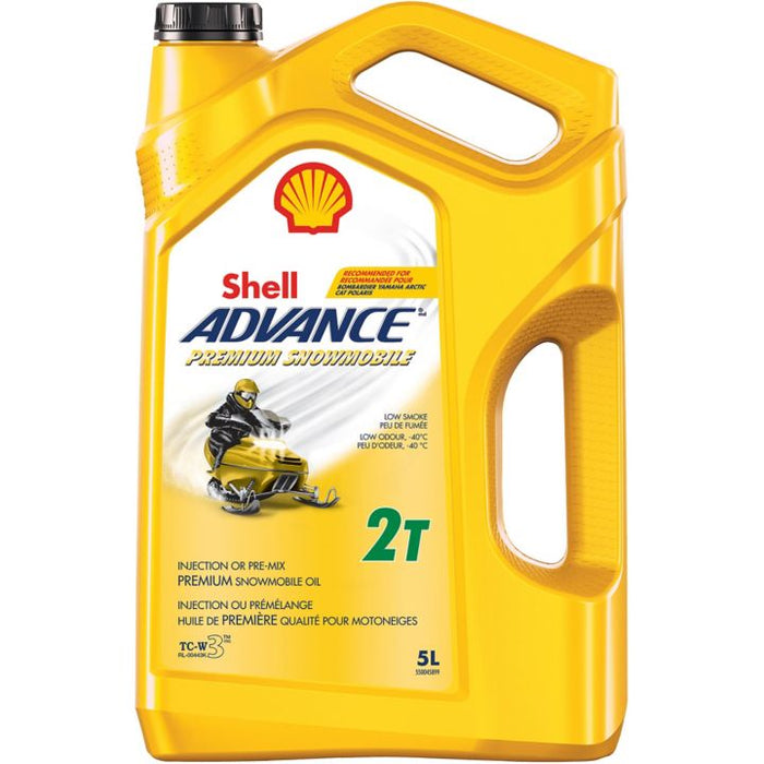 427-511-22 Shell Advance Snowmobile Oil, 5L
