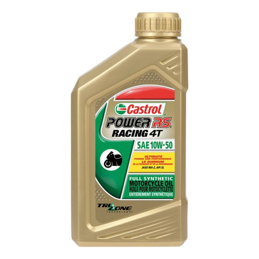 0281820 Castrol Power1 4T 10W50 Oil, 946-mL