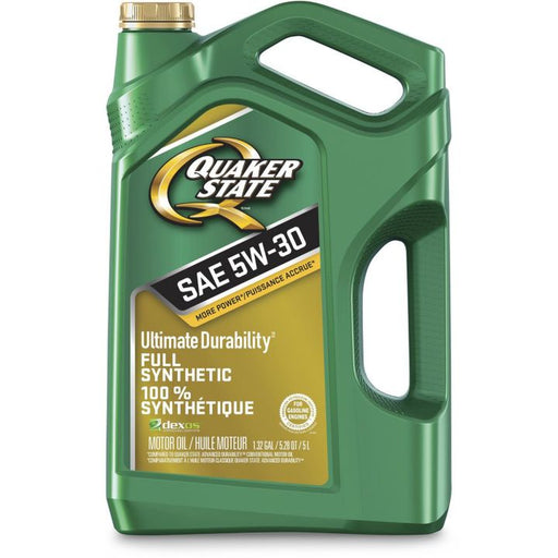 5061016 Quaker State 5W30 Ultimate Durability Synthetic Engine Oil, 5-L