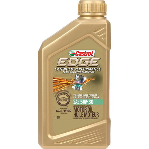 Castrol EDGE Extended Performance SyntheticEngine Oil, 1-L