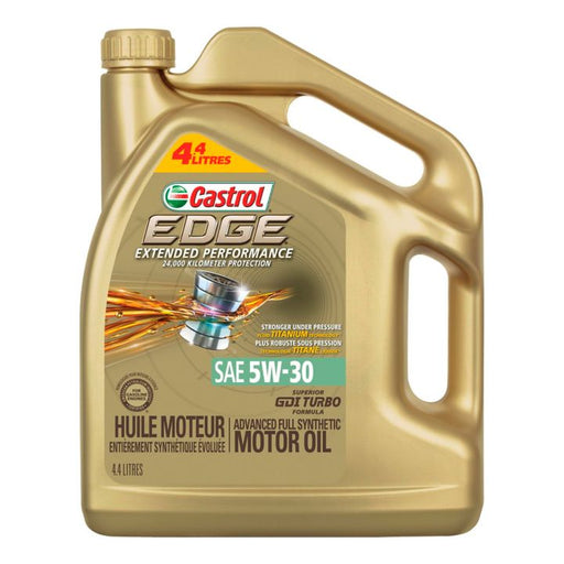 Castrol EDGE Extended Performance Synthetic Engine Oil, 4.4-L
