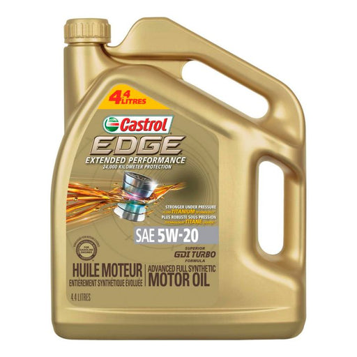 02065-89 Castrol EDGE 5W20 Extended Performance Synthetic Engine Oil, 4.4-L